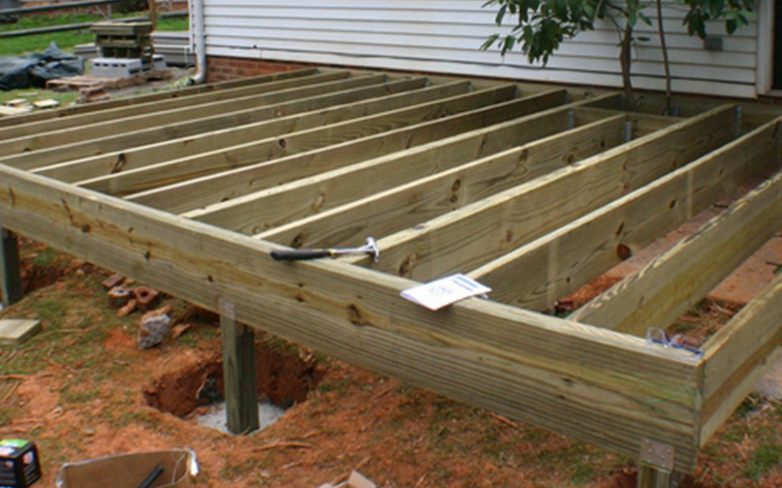 Deck installation for How to install decking